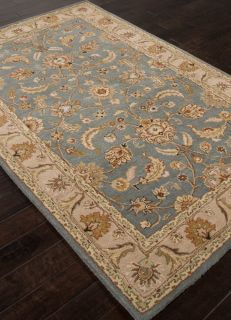 Area Rugs Traditional Hand Tufted Deep Blue 2'x3' 23772 Jay