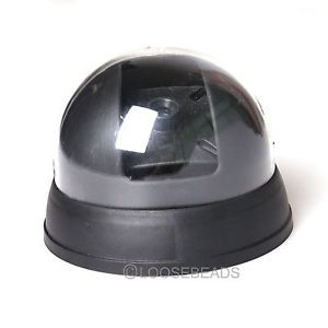 Black Dome CCTV Color Security Camera Rounded Home Safety Detector Surveillance
