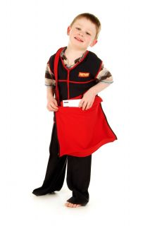Children's Kids Boys Girls Postman Postal Worker Fancy Dress Costume Postman Pat