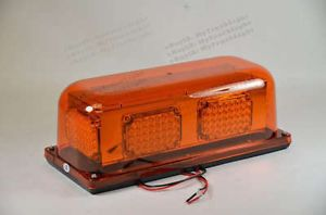 LED 12VDC Permanent Safety Construction Security Flash Truck Strobe Light Beacon
