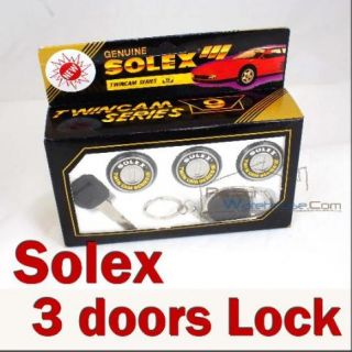 Solex 3 Door Lock Set Universal Fit Security Safety
