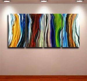 Metal Modern Abstract Wall Art Painting Sculpture Large Original Contemporary