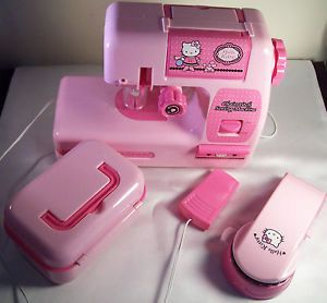 Hello Kitty Sewing Chainstitch Sewing Machine