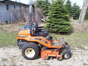 "Kubota ZD21 Diesel Zero Turn ZTR Riding Lawn Mower with 60"" Pro Deck"