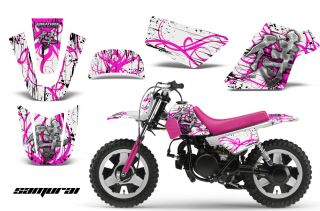 Yamaha PW50 Graphics Kit Decals Samurai PW