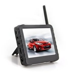 "Mini 5"" LCD 2 4G Wireless HD DVR Camera Motion Detect Portable Monitor 8 Channel"