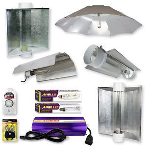 Apollo Horticulture 600 Watt 600W MH HPS Grow Lights Digital System Set