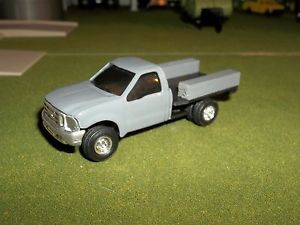 1 64 Custom Ford F350 Dually Flatbed Pickup Truck w Toolboxs Farm Toy Ertl 1 64
