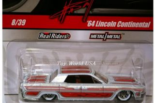 Hot Wheels Wayne's Garage 8 '64 Lincoln Continental Chase