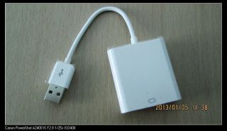 USB2 0 to VGA Adapter External Graphic Card for Windows and Mac OS Multi Display