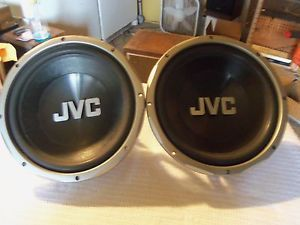 "JVC CS GS5120 12"" Pair Subwoofers Auto Car Sub Speaker 800W Watt Peak Power"