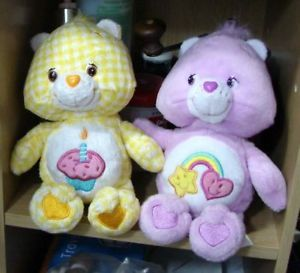 22cm Plush Best Friend Birthday Care Bears New