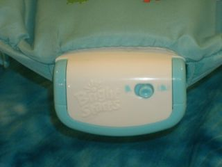 Bright Starts Fun on Safari Vibrating Bouncer Perfect Sleep Aid for Mom N Baby