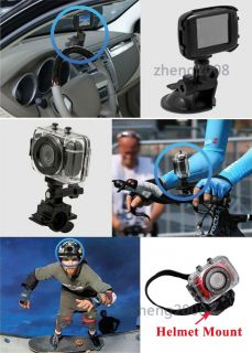 720P HD Camcorder Waterproof Helmet Sport Action Camera DV Recorder Touch Screen
