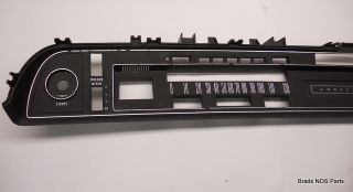 Mopar New 1971 72 73 Chrysler Newport New Yorker Dash Instrument Trim Bezel