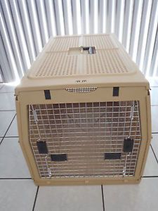 "Nylabone 32""x24""x22 1 2"" Extra Large Folding Pet Dog Carrier Crate Kennel Cage"