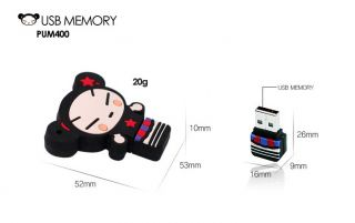 Bless PUM400 Pucca 4GB 8GB 16GB USB Memory Flash Drive