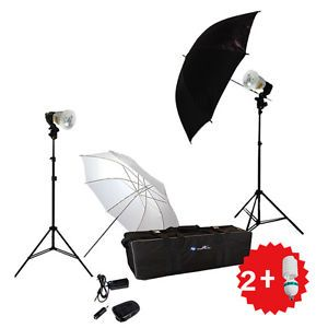 900W Strobe Studio Flash Light Kit