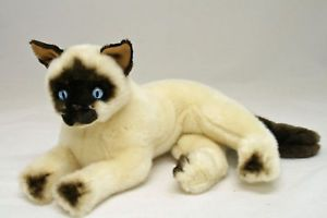 Siamese Cat Soft Stuffed Plush Toy 'Blossum' New