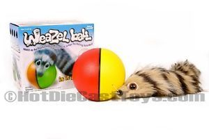 Weazel Ball Battery Operated Motion Toy Dog Toy Cat Toy by DY Toy 8037