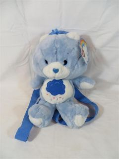 20th Anniversary Care Bears Grumpy Bear Backpack Bag with Tags