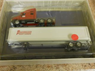 Winross Southwestern Freight Carriers Tractor and Trailer