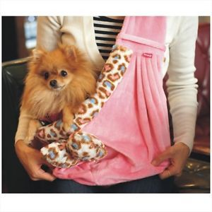 Cutie Pet Dog Cat Puppy Carrier Bag Sling Tote Purse Carriers H4855 Pink