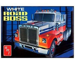 AMT 648 Model Kit White Road Boss Truck Fsmib gms Customs Hobby Outlet 1 25 New