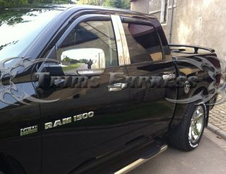 2009 2013 Dodge RAM 1500 10 13 RAM 2500 3500 4 Door Chrome Handle Covers No PSKH