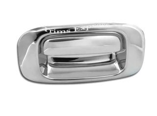 1999 2006 Chevy Silverado GMC Sierra Chrome Tailgate Handle Cover No Keyhole