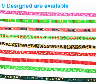 1 5 120cm Colorful Pet Dog Collar Leash Chest Harness Strap