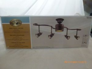 Hampton Bay 853 645 Kara Track Lighting Bronze Kitchen Ceiling Light Fixture