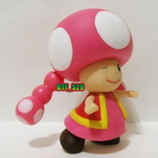 "Action 3""1 2 Toadette New Super Mario Brothers Action Figure"