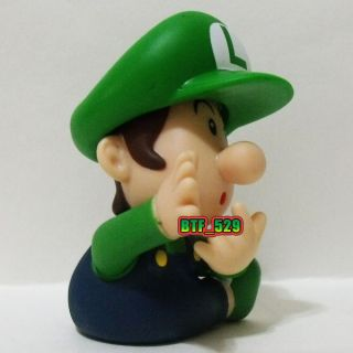 "Action 3""1 2 Baby Luigi New Super Mario Brothers Action Figure"