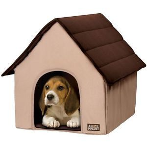 New Animal Planet Dog Cat Portable Pet House Bed Fold Go Soft Plush