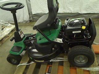 Weedeater 26 in 190cc Briggs and Stratton Rear Engine Riding Lawn Mower