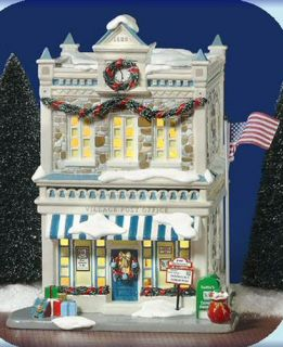 Christmas Time Post Office New Department Dept 56 Snow Village D56 SV
