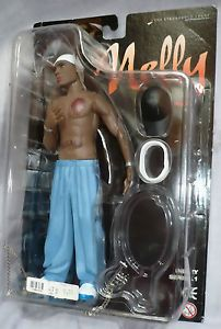 Celebrity Rapper Nelly Rap Music Artist Posable Action Figure Character Doll