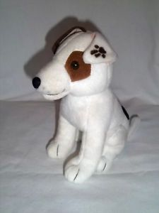 "1998 Big Feats 7"" Plush Wishbone Dog Bean Bag Stuffed Animal Toy Denny'S"