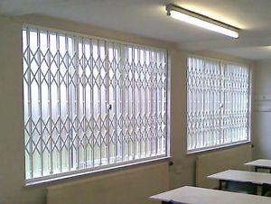 Window Door Security Grilles Concertina Shutters Grille Grill Grilles Shutter