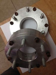 Wheel Adapters 5 Lug to 6 Lug Stainless Steel Spacers for Rims