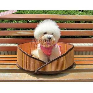 Oval Style Summer Sleeping Pad Cushion Design Soft Pet Nest Dog Cat Bed Foldable