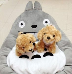 New Teddy Breathable Totoro Bed Dog Pet Cat Bed Pet Dog Kennel