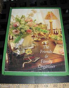 Friend Family Organizer Christmas Card Anniversary Birthday Address Phone Book