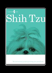 Shih Tzu Dog Grooming DVD Video Pet Supplies Guide