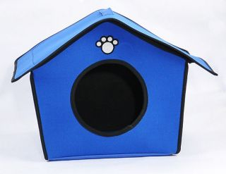 New Cushion Soft Pet Dog Cat Sleeping Bed House Kennel Doggy Warm Puppy House