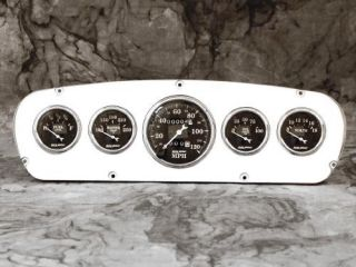 65 66 Ford Custom Cab Billet Aluminum Gauge Panel Dash Insert Instrument Cluster