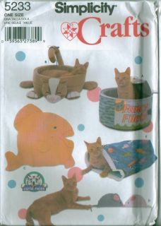 Dog Pet Accessories Clothes Beds Costumes Simplicity Sewing Pattern