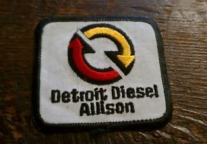 Detroit Diesel Allison Service Uniform Patch Cummins Sign Engine Transmission
