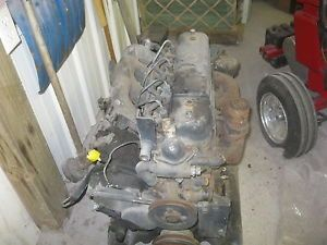 Isuzu 4 Cylinder Diesel Engine C201 Thermoking Complete Running Engine